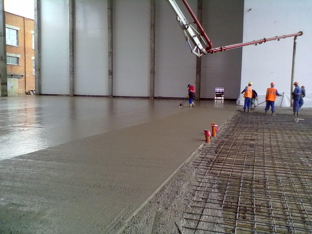 Будівництво промислових підлог підлог