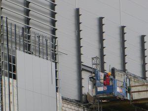 Будівництво огороджувальних конструкцій