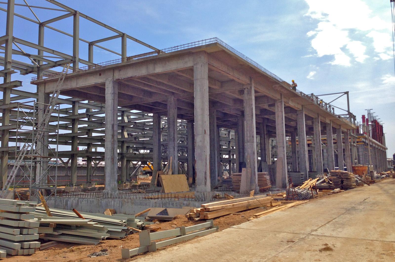 Качественное строительство промышленных монолитных зданий
